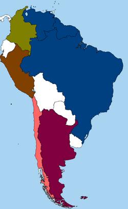 SATEC member map