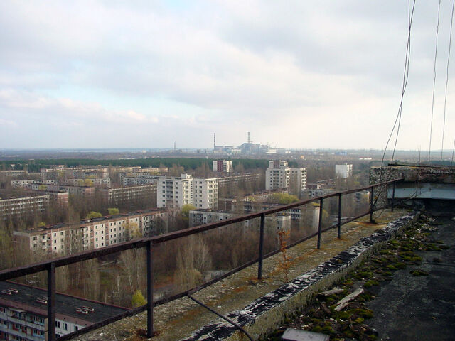 File:View of Chernobyl taken from Pripyat.jpeg