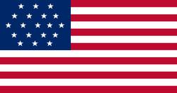 19 star flag