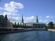 Christiansborg Palace and Børsen