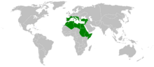 Fascist Italy (New Roman Empire) map