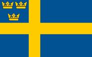 Flag of Sweden (6-2-5 Upheaval)