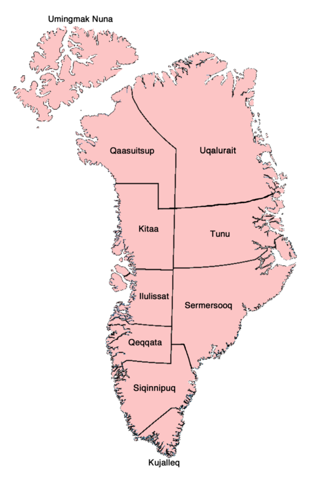 Provinces of Greenland VINW 3