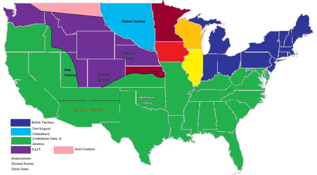 American Civil War Confederate Victory Alternative History
