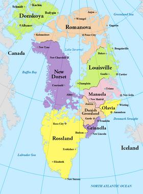 Atlas of Greenland