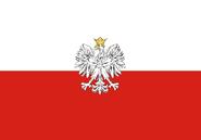 Imperial Republic of Poland Flag