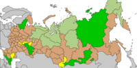 Administrative divisions of Russian FSR (Twilight of a New Era)