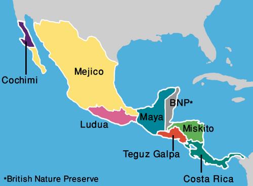Map Southern Pemhakamik (VegWorld)