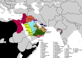 The Arabian Federation, 1719