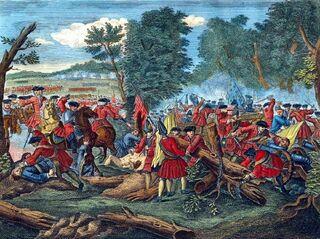 Battle of Malplaquet, 1709