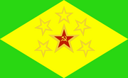 Brazil Commie flag