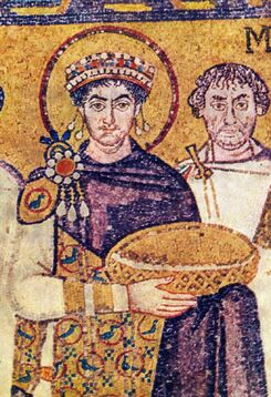 Justinian The Great Wearing the Purple