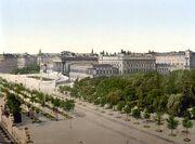 Wien Parlament um 1900
