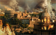 Rome Destruction