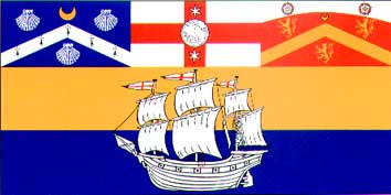 File:Flag of the City of Sydney.png