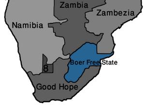 Map Boer Free State (VegWorld)