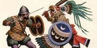 Aztec-Spaniard Wars (The Purple Mantle)