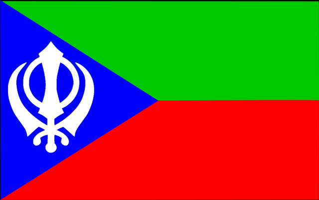 File:Flag of Balochistan (Raj Karega Khalsa).png