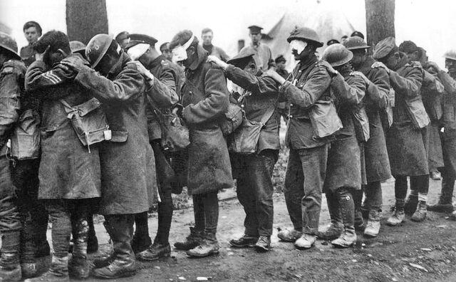 File:British 55th Division gas casualties 10 April 1918.jpg