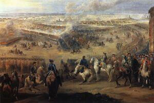 1745 Battle of Fontenoy