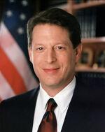 Al Gore closeup