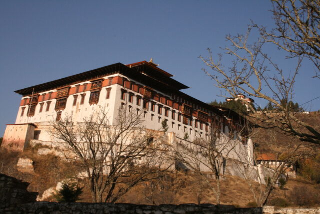 File:Bhutan dzong at paro.jpg