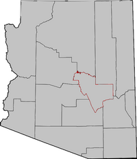 Arizona Senatorial Election Results by County, 2010