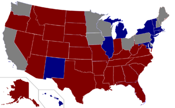 2012 president election map