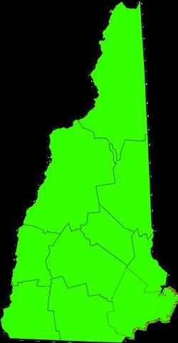 New Hampshire Democratic Results