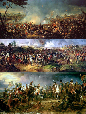 Napoleonic Wars Collage