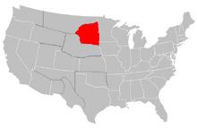 North Lakotah Map