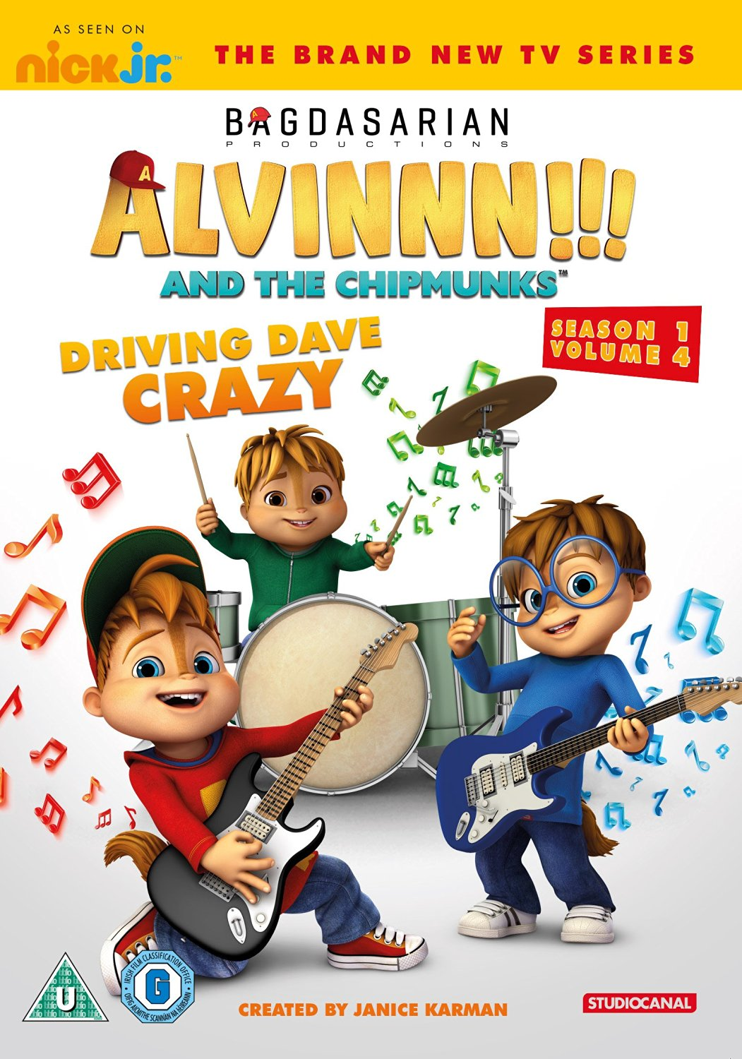 Driving Dave Crazy Region 2 Dvd Alvin And The