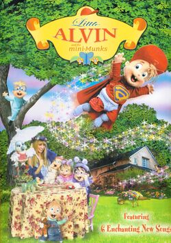 Little Alvin and the Mini-Munks DVD Cover