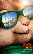 Alvin and the Chipmunks The Road Chip Character Poster 03