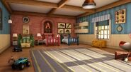 The Chipmunks' Room in CGI Series