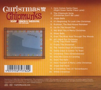 Christmas With The Chipmunks 2008 Back Cover