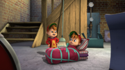 Alvin and his clone in Double Trouble