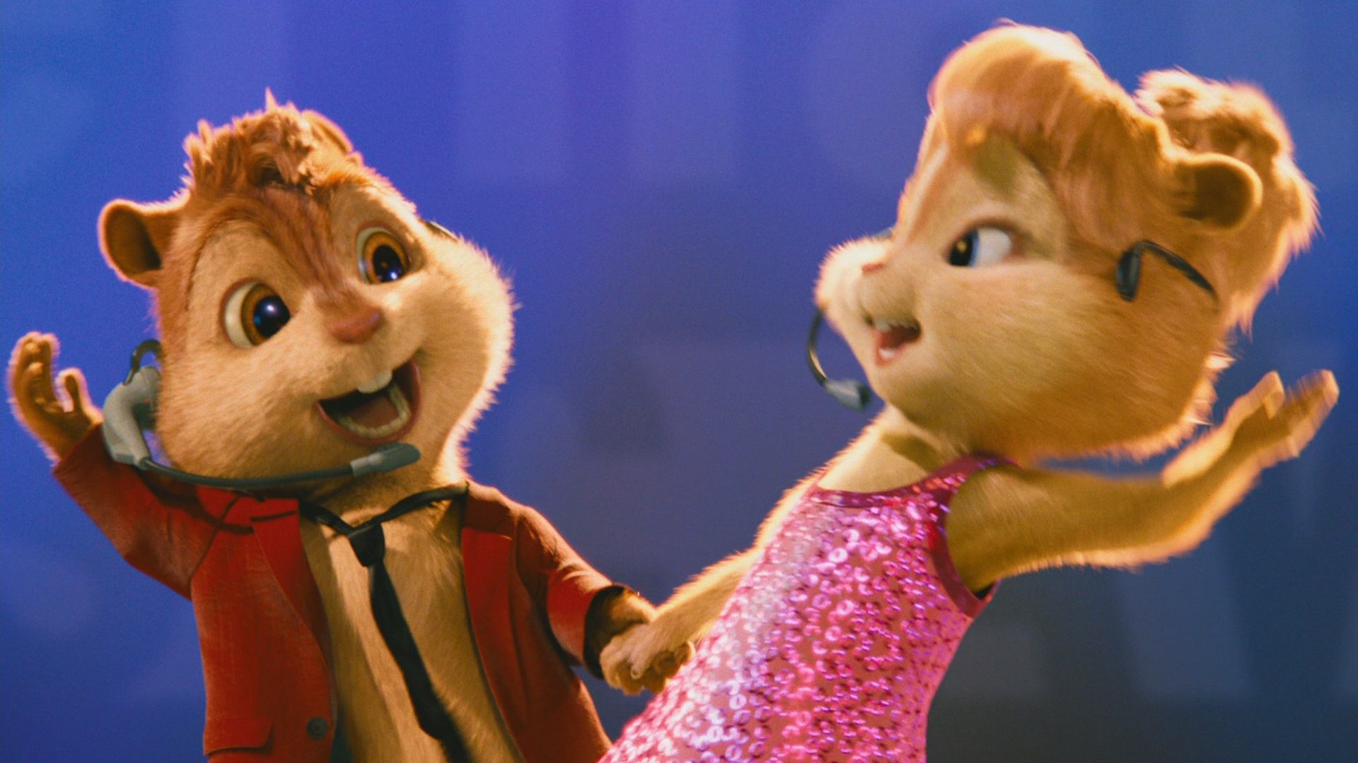 Alvin And The Chipmunks Theodore And Eleanor Wallpaper Alvin And Brittany Final