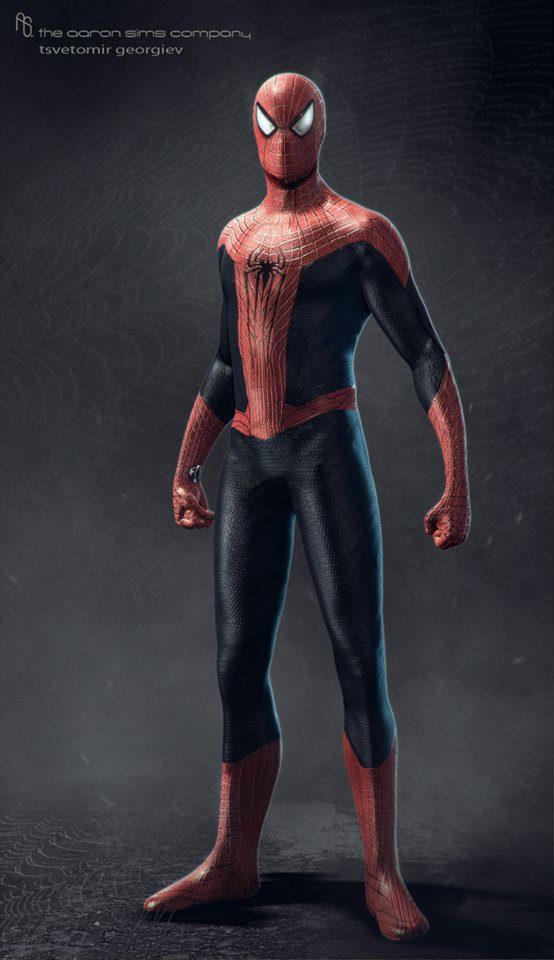 Image - The-amazing-spider-man-2 concept-art-1.jpg ... Andrew Garfield Wiki