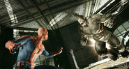 Spider-Man and the Rhino