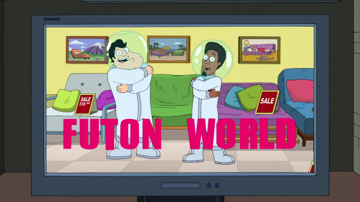 Futon World Is Where Francine Gets Stan A Job To Keep Him Away From The Cia
