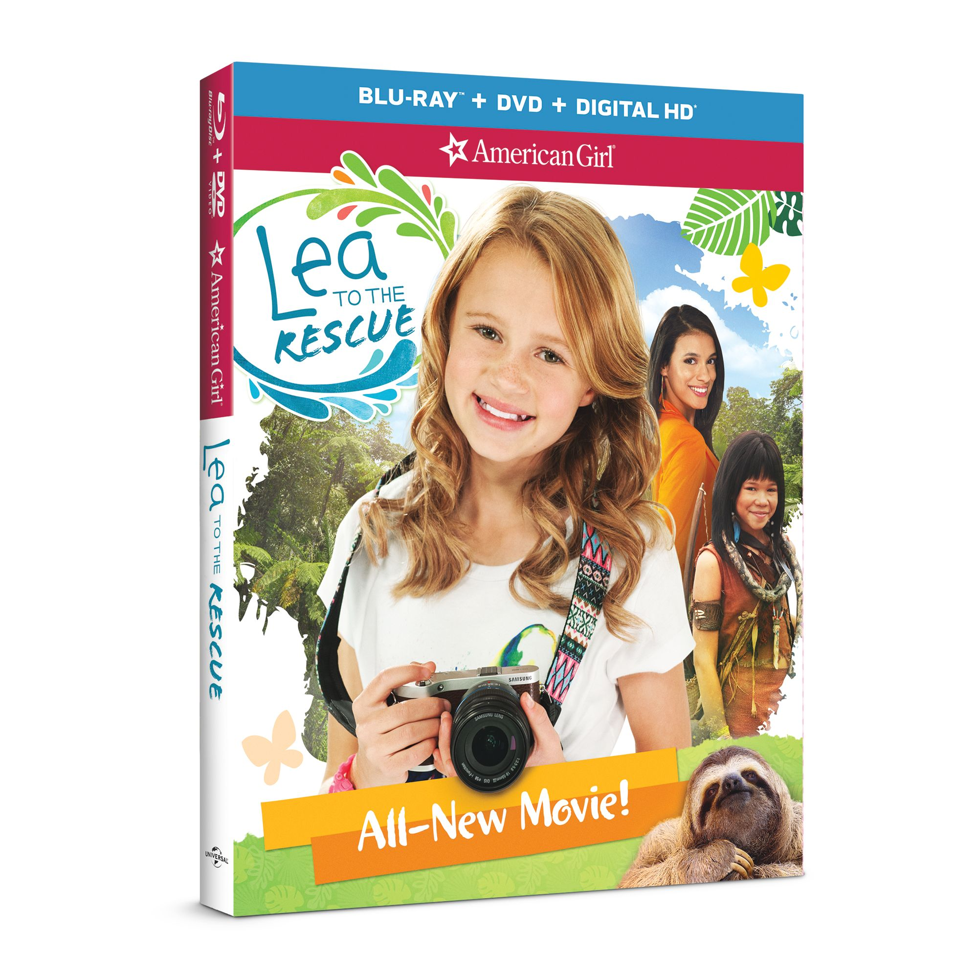 American Girl: Lea to the Rescue Home Entertainment TV