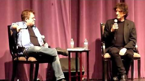 Neil Gaiman & Patton Oswalt @ Saban Theater in L.A