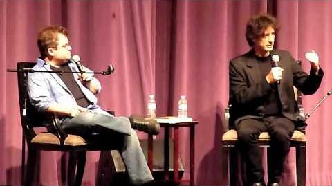 Neil Gaiman & Patton Oswalt @ Saban Theater in L.A