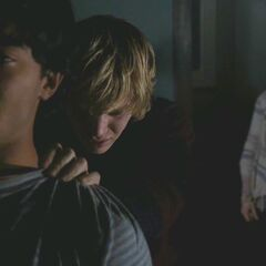Violet stops Tate from murdering Gabe so that Gabe can be the 'normal' boyfriend to Violet.