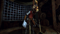 March Hare in his control room