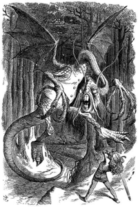 Jabberwock illustration