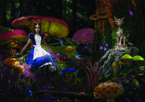 Alice in forest