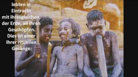 Aborigines Botschaft aus dem Ewigen (deutsch)
