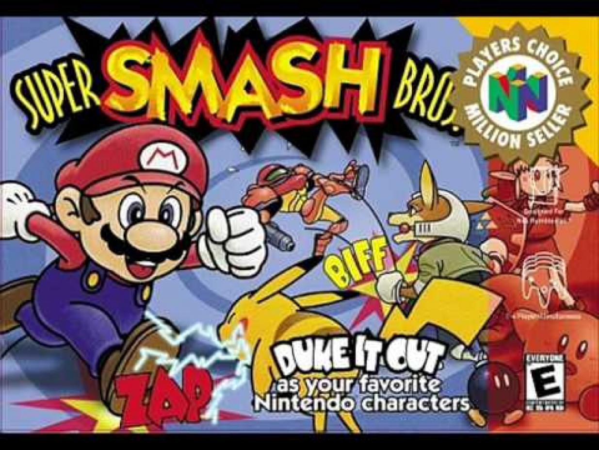 Image result for super smash bros original